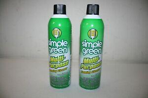 Lot of 2 Simple Green 20 oz. Multi-Purpose Foaming Cleaner