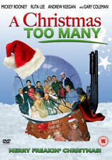 A Christmas Too Many (DVD)-NEW&SEALED-MICKEY ROONEY