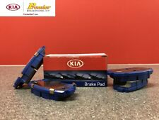 2017-2018 KIA FORTE & FORTE5 NEW OEM BRAKE PADS REAR 58302 A7B31