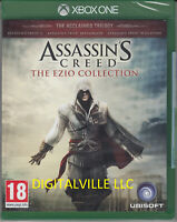 Assassins Creed The Ezio Collection Xbox One Brand New Factory Sealed Assassin's
