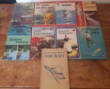 Vintage Ladybird Books educational Matt Covers Florence Nightingale Danger Men