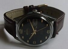 "VINTAGE ""ATLANTIC- 17J-DATA-SWISS WRIST WATCH MEN,S"