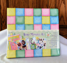 Baby Memories Album Kit By Westrim Crafts Diy Scrapbooking New