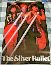 Coors Light Beer / 1985 Three Sexy Club Girls The Silver Bullet Poster Man Cave