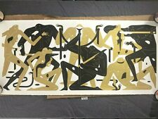 "Cleon Peterson Stare Into the Sun 22"" x 48"" White/Gold xx/75 *Signed* 2019"