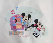 DISNEY Mickey & Minnie Mouse-Jukebox-completato Cross Stitch (G4060)