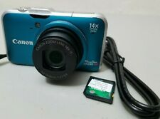 Canon PowerShot SX230 HS 12.1MP Digital Camera - Blue *GOOD/TeSTED*