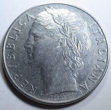 Italy 1957 100 Lira High Grade Coin Antique Italian Vintage Vatican Lire Money