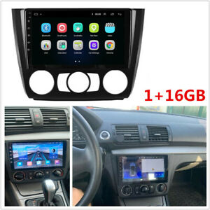 """For BMW 1-Series E81-82 E87-88 04-11 9"""" Android 10 Stereo Radio Video GPS Player"""