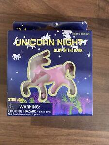 24 Pack Unicorn Night Glow in the Dark Stickers