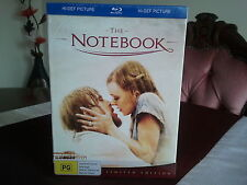THE NOTEBOOK BLU RAY LIMITED EDITION BOXSET BRAND NEW SEALED AUS RARE