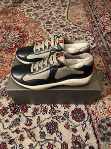 Prada America's Cup Shoes Navy Blue - Prada Size 7 (fits like US 9.5)