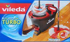 EasyWring Clean Bodenwischer Wischmop mit Putzeimer Komplettset Vileda Turbo