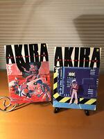 Akira English Manga Graphic Novels Vol 1 -2 by Katsuhiro Otomo 1st Editions SC