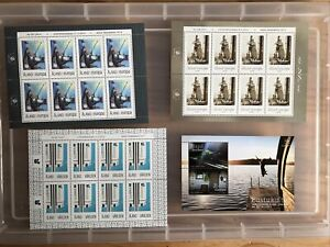 Aland stamps Mint unchecked Mini-sheets