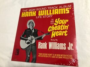 YOUR CHEATIN HEART MGM Film Soundtrack New Sealed Vinyl LP Hank Williams story