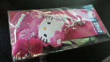Hello Kitty Cheerleader Backpack Clip On Key Chain Charms Pom-Poms
