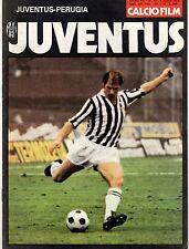 CALCIOFILM=N.10 8/3/1978=JUVENTUS-PERUGIA 2-0=