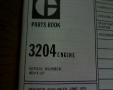Caterpillar 3204 engine Parts manual / book