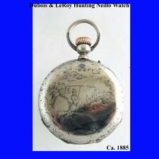 Mint Silver & Niello LeRoy Demi-Chronometre Watch 1865