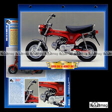 #034.06 Fiche Moto Cyclo HONDA DAX 50 (MONKEY BIKE) 1967-99 Motorcycle Card
