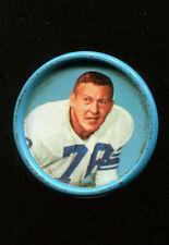1962 Salada Football Coins Darris McCord #79 Lions Ex+ Condition KK74