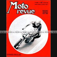 MOTO REVUE N°1927 ★ HONDA CB 125 ★ GYULA MARSOWSKI MANS GUS KUHN COMMANDO 1969