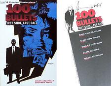 Brian Azzarello~Eduardo Risso SIGNED 100 Bullets Vol 1 First Call, Last Call