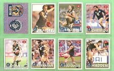 1996 AFL SELECT  STICKERS & STAND UPS - CARLTON BLUES