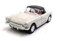 1957 Chevrolet Corvette Gris Maquette de Voiture Auto Échelle 1:3 4 (Licencé)