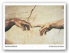 MUSEUM ART PRINT La Creazione di Adamo Creation of Adam Michelangelo Buonarotti
