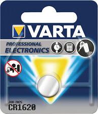 10x Varta CR1620 Knopfzelle 1er Blister 3v Batterie Lithium CR 1620 VCR1620