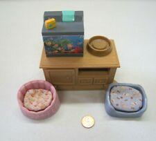 FISHER PRICE Loving Family Dollhouse PET CENTER Sounds & Lights w/ AQUARIUM #2