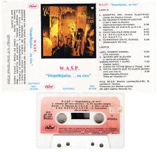 W.A.SP. In The Raw South America M- Cassette MC Glam Metal RARE