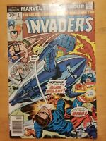 The Invaders Comic Book #11 Marvel Comics 1976 Nice Comic