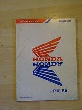 Original Honda Workshop Manual for Pk 50 Walleroo 1990 5gt84110