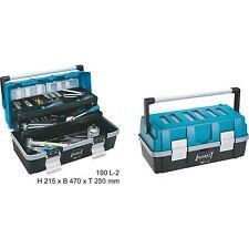 Hazet Kunststoff-Werkzeugkasten 190L-2, Werkzeugkiste, blau