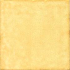 """Spanische Fliese, einfarbig Antikstil 15x15 cm, """"Amarillo"""" (Gelb)"""