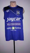 Australian Bulldogs NRL Dog Rugby Training Shirt Jersey Singlet Canterbury Sz L
