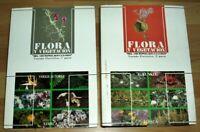 2x Kanaren Flora y Vegetacion Archipielago Canario Edirca 2 Bände Botanik 1991
