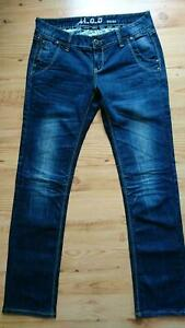 M.O.D. Jeans Damen W30/L34 dunkelblau - original + TOP-Zustand