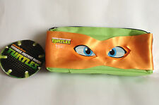 Teenage Mutant Ninja Turtles Orange 'Mikey' Eye Mask Pencil Case