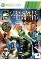 Ben 10: Ultimate Alien Cosmic Destruction Xbox 360 Kids Game Tested