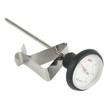 Stainless Steel Kitchen Espresso Coffee Milk Frothing Thermometer Craft ZK