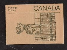 Canada Stamp Booklet Peace Tower Gargoyle