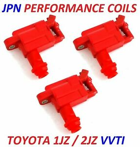 Ignition Coil Packs for 1JZ 2JZ VVTi SUPRA JZX100 CHASER LEXUS IS300 ARISTO
