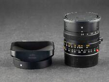 Leica M 28mm 2.8 Elmarit 11804 schwarz FOTO-GÖRLITZ Ankauf + Verkauf