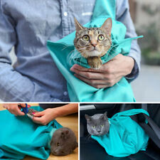 Pet Sling Carrier Bag Travel Tote for Cats Dogs Anti-Scratch Comfy Grooming Sack