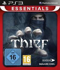 SONY PS3 Thief Dieb Eidos Square Enix deutsch USK16 komplett gebraucht OVP