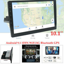 "Android 9.1 10.1"" Single DIN Car Bluetooth Stereo Radio MP5 Player GPS Navi"
